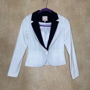 Jackets & Blazers - Black & White Blazer